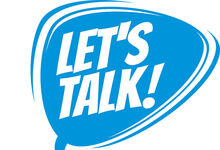 Let´s Talk Logo Grafik