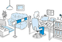Illustration Homeoffice